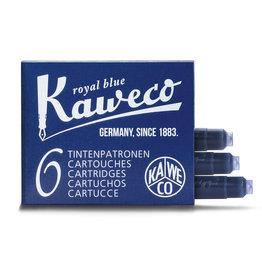 Kaweco Kaweco Ink Cartridges 6pcs Royal Blue