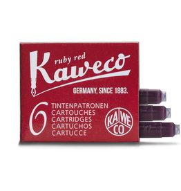 Kaweco Kaweco Ink Cartridges 6pcs Red