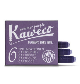 Kaweco Kaweco Ink Cartridges 6pcs Summer Purple