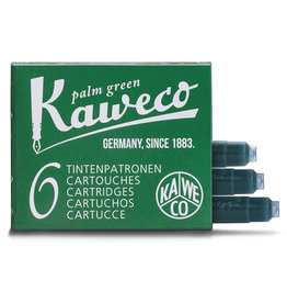Kaweco Kaweco Ink Cartridges 6pcs Palm Green