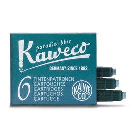 Kaweco Kaweco Ink Cartridges 6pcs Paradise Blue