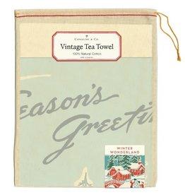 Cavallini Papers & Co. Winter Wonderland Tea Towel