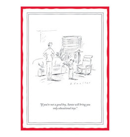 The New Yorker Christmas Educational Toys A7 Notecard