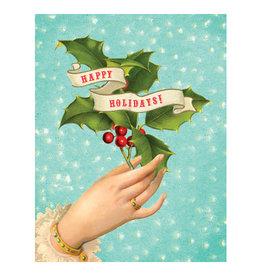 Cartolina Happy Holidays A2 Christmas Notecard