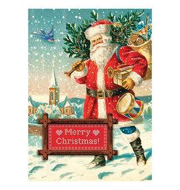Cartolina Merry Christmas A6 Notecard