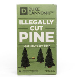 Duke Cannon Supply Co. Illegally Cut Pine Christmas Soap