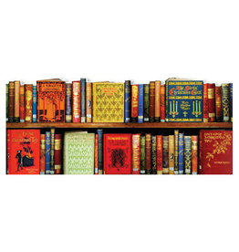 The Bodleian Library Mantelpiece Bookspines No. 10 Christmas Notecard