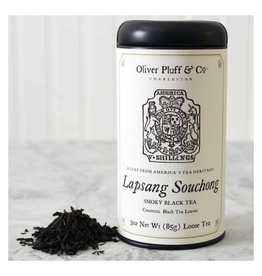 Oliver Pluff & Co. Loose Lapsang Souchong Tea in Tin