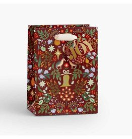 Rifle Paper Co. Small Partridge Christmas Gift Bag