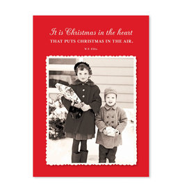 Shannon Martin Christmas in the Heart A7 Notecard