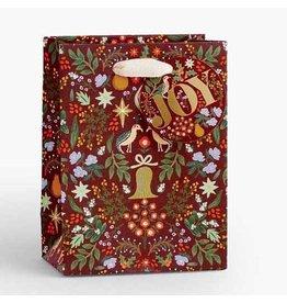 Rifle Paper Co. Medium Partridge Christmas Gift Bag