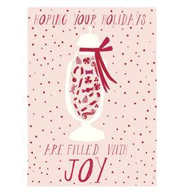 Mr. Boddington's Studio Rudolph's Peppermints A6 Christmas Notecard