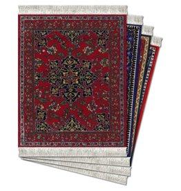 FiberLok Technologies, Inc. Oriental Collection Coaster Rug Set