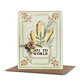Papaya! Crystal Joy A2 Christmas Notecard