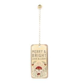 Papaya! Love & Light Set of 2 Holiday Gift Tags