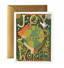 Rifle Paper Co. Joy to the World A2 Christmas Notecard