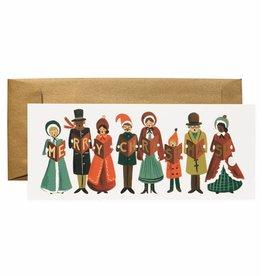Rifle Paper Co. Carolers Christmas No.10 Notecard