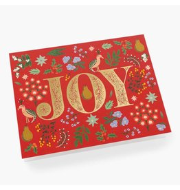 Rifle Paper Co. Partridge A2 Christmas Notecard