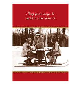 Shannon Martin May Your Days Be Merry  A7 Christmas Notecard