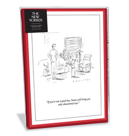 The New Yorker Educational Toys Christmas Box of 8 Notecards