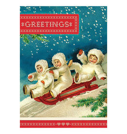 Cartolina Greetings A6 Christmas Notecard