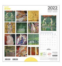 Éditions du Désastre Klimt 2022 12x12 Wall Calendar