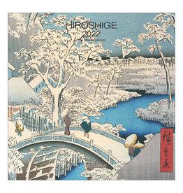 Allaluna Hiroshige 2022 7x7 Small Wall Calendar