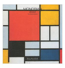 Allaluna Mondrian 2022 7x7 Small Wall Calendar