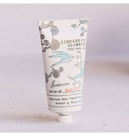 Library of Flowers True Vanilla Boxed Handcreme