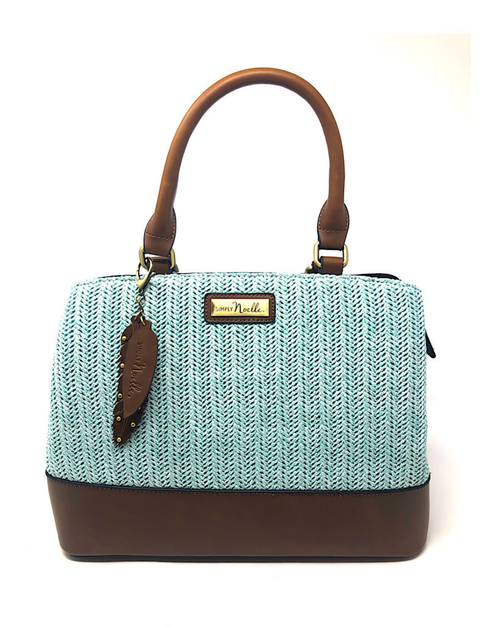 Simply Noelle Shoulder Bag Raffia
