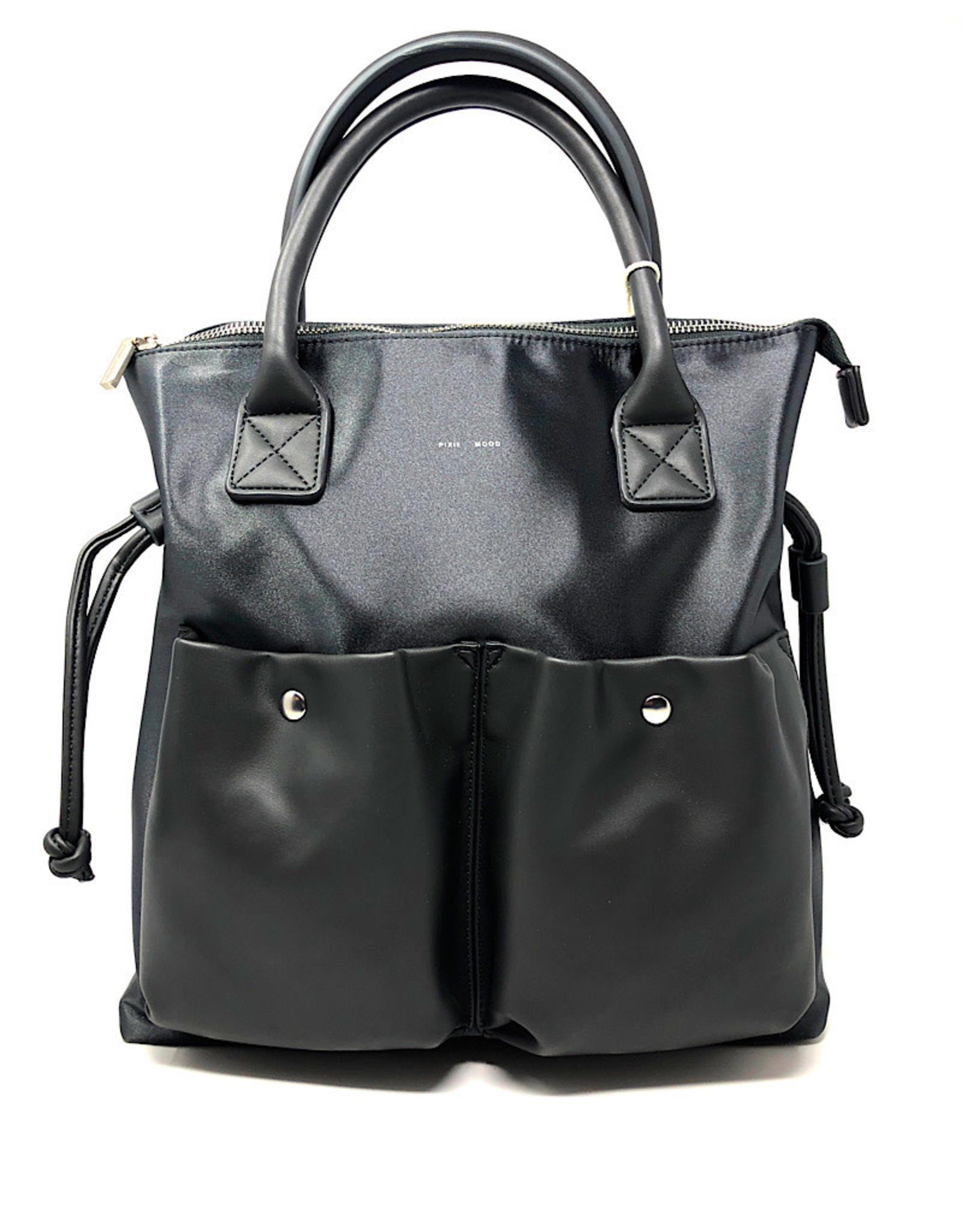 Pixie Mood Bag Avery Tote Satin Grey