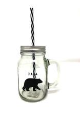 Abbott Mason Jar Papa Bear