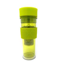 Tea's Sake 16 OZ Travel Tea Mug With Infuser