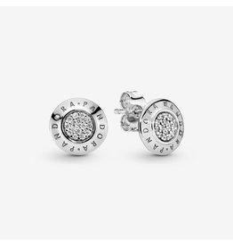 Pandora Pandora Earring,290559CZ, Signature Stud