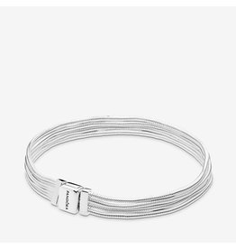 Pandora Pandora Bracelet,597943, Reflexions Multi Snake Chain, Sterling Silver
