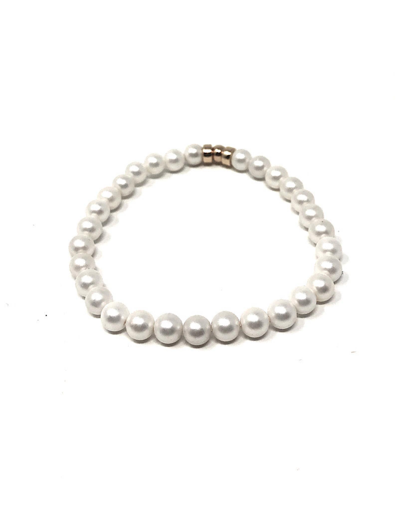 Beblue beblue Bracelet White Pearls