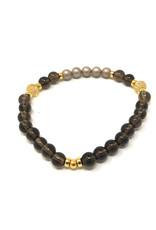 Beblue beblue Bracelet dark beads & pearls