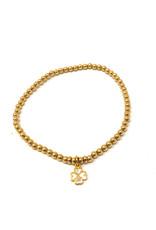 Beblue belue Gold Bracelet Clover