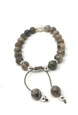 Beblue beblue Grey Bracelet Pearl