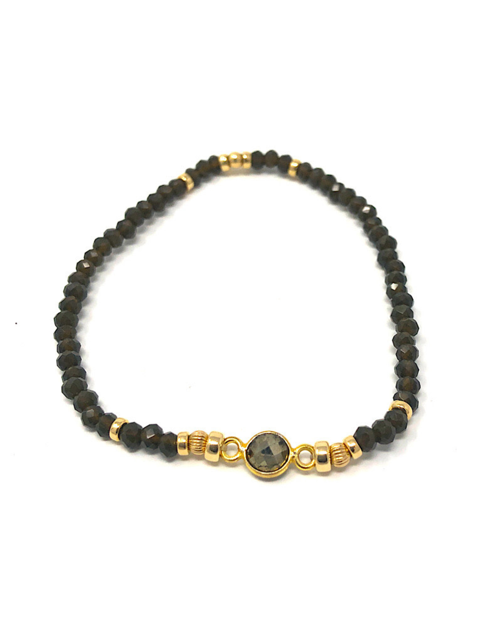 Beblue beblue Bracelet Green & Gold