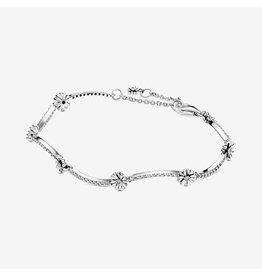 Pandora Pandora Bracelet (598807C01)Sterling Silver Sparkling Daisy Flower