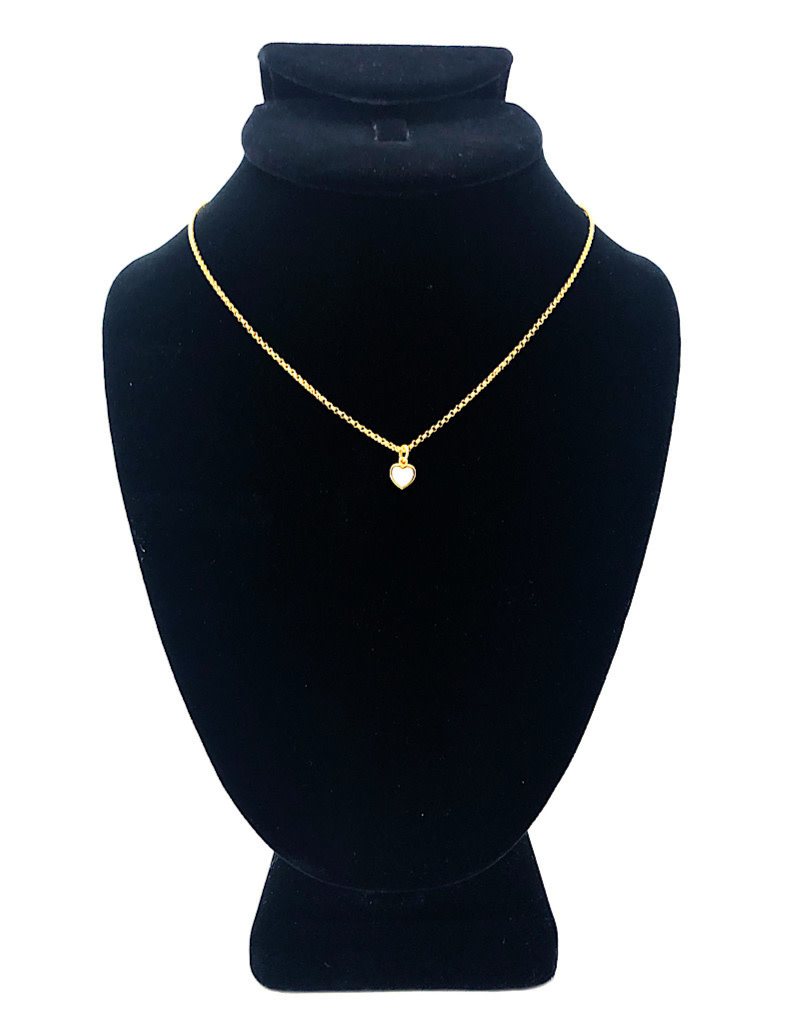 Beblue Gold Necklace Heart