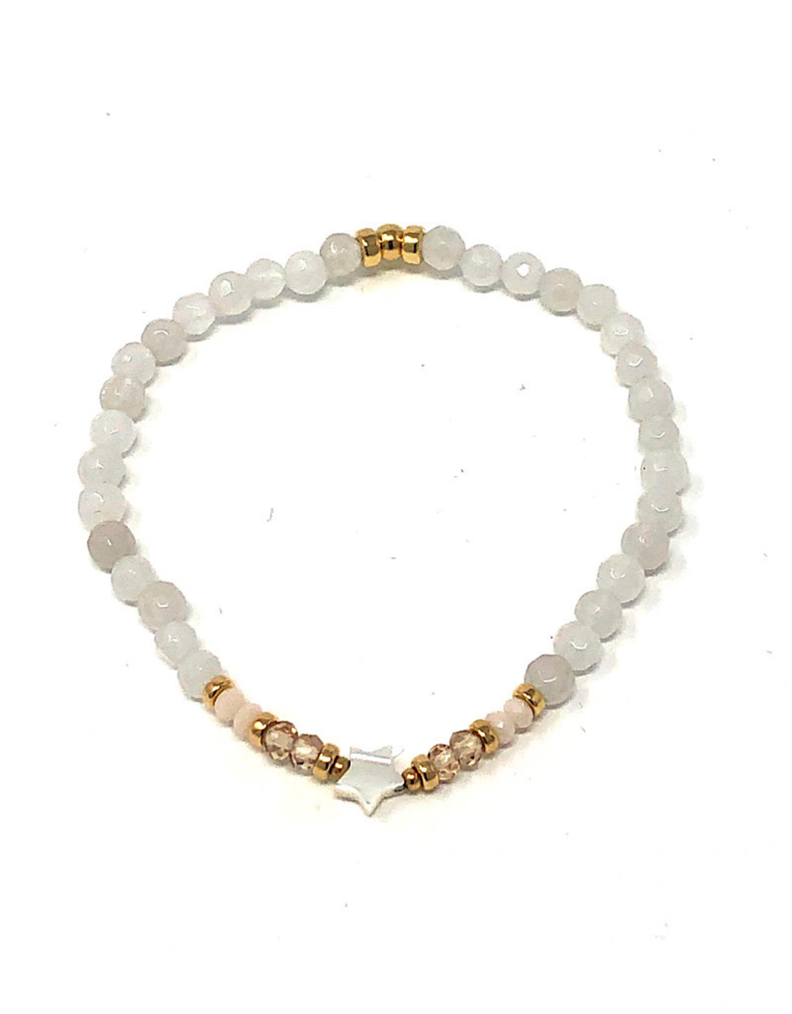 Beblue beblue White Bracelet Star
