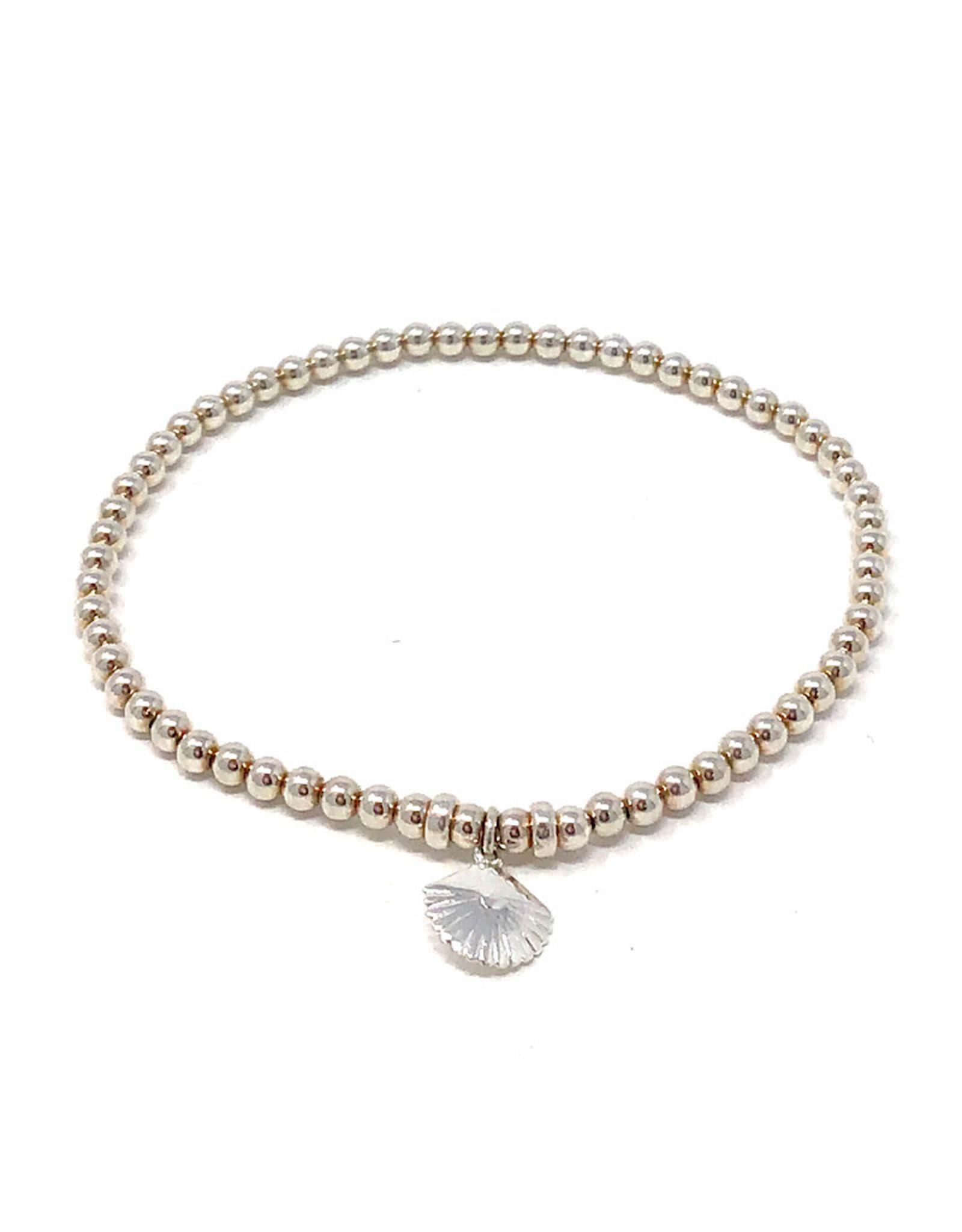 Beblue beblue Silver Bracelet Seashell