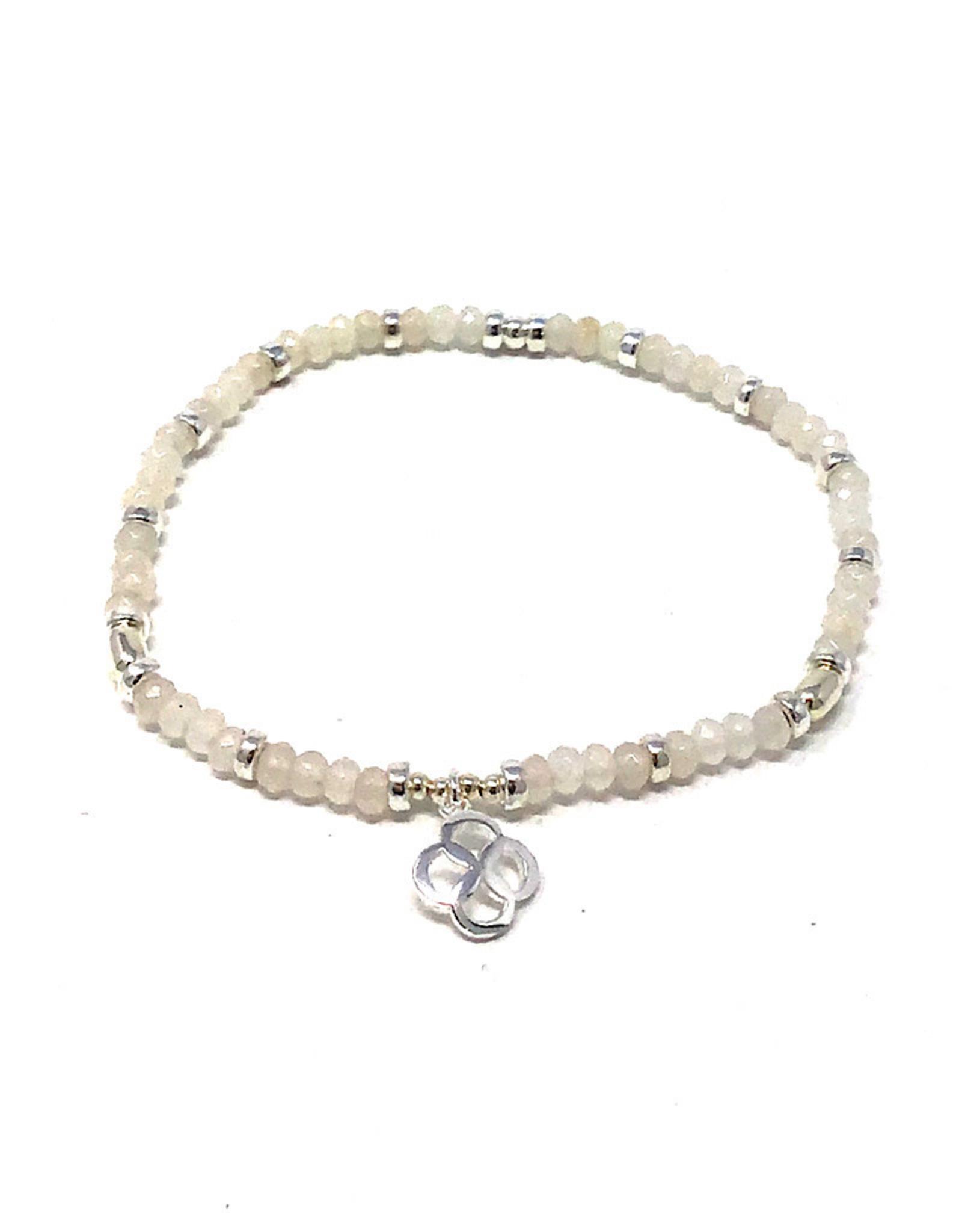 Beblue beblue White Bracelet w. Spirit Logo