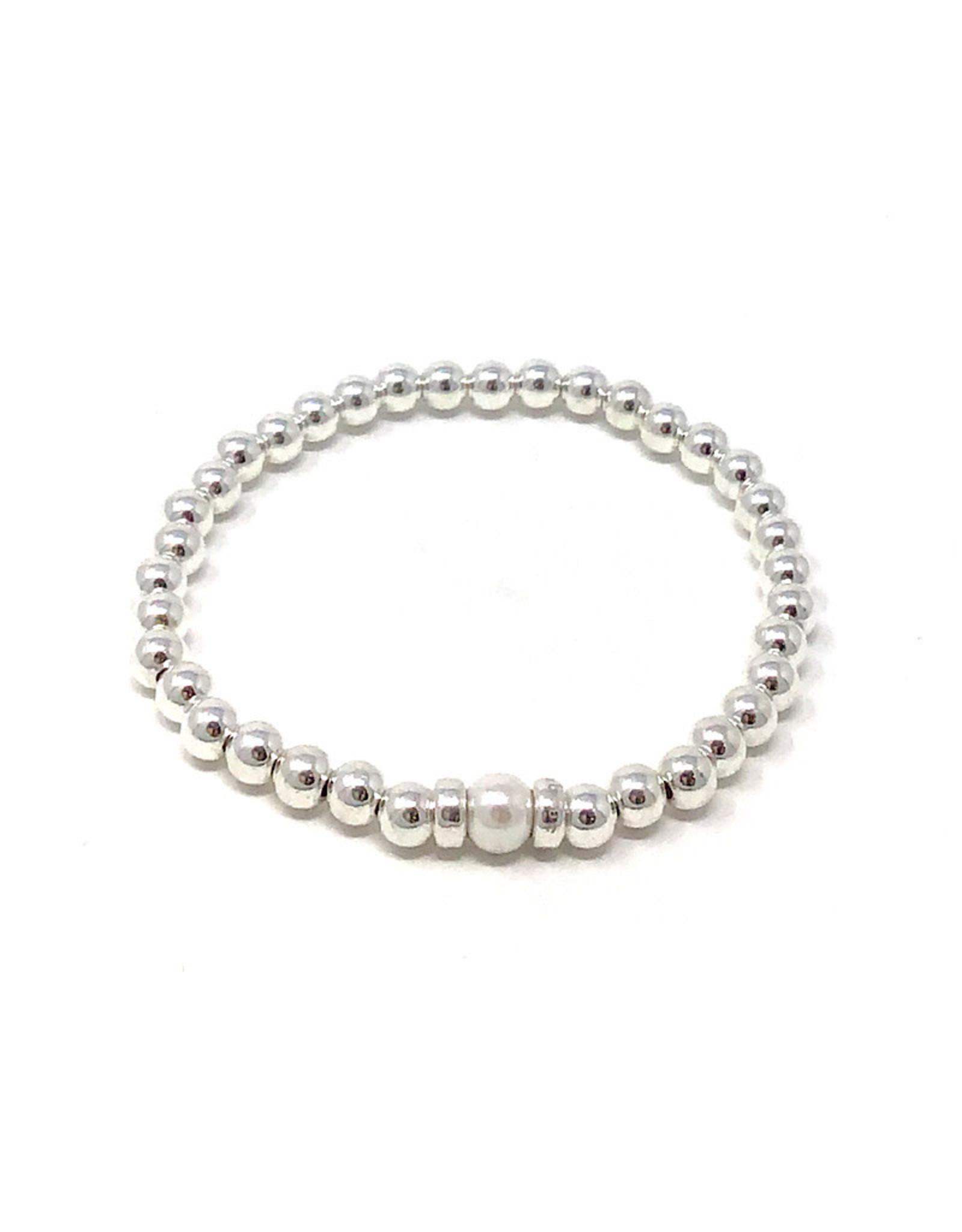 Beblue beblue Silver Bracelet Pearl