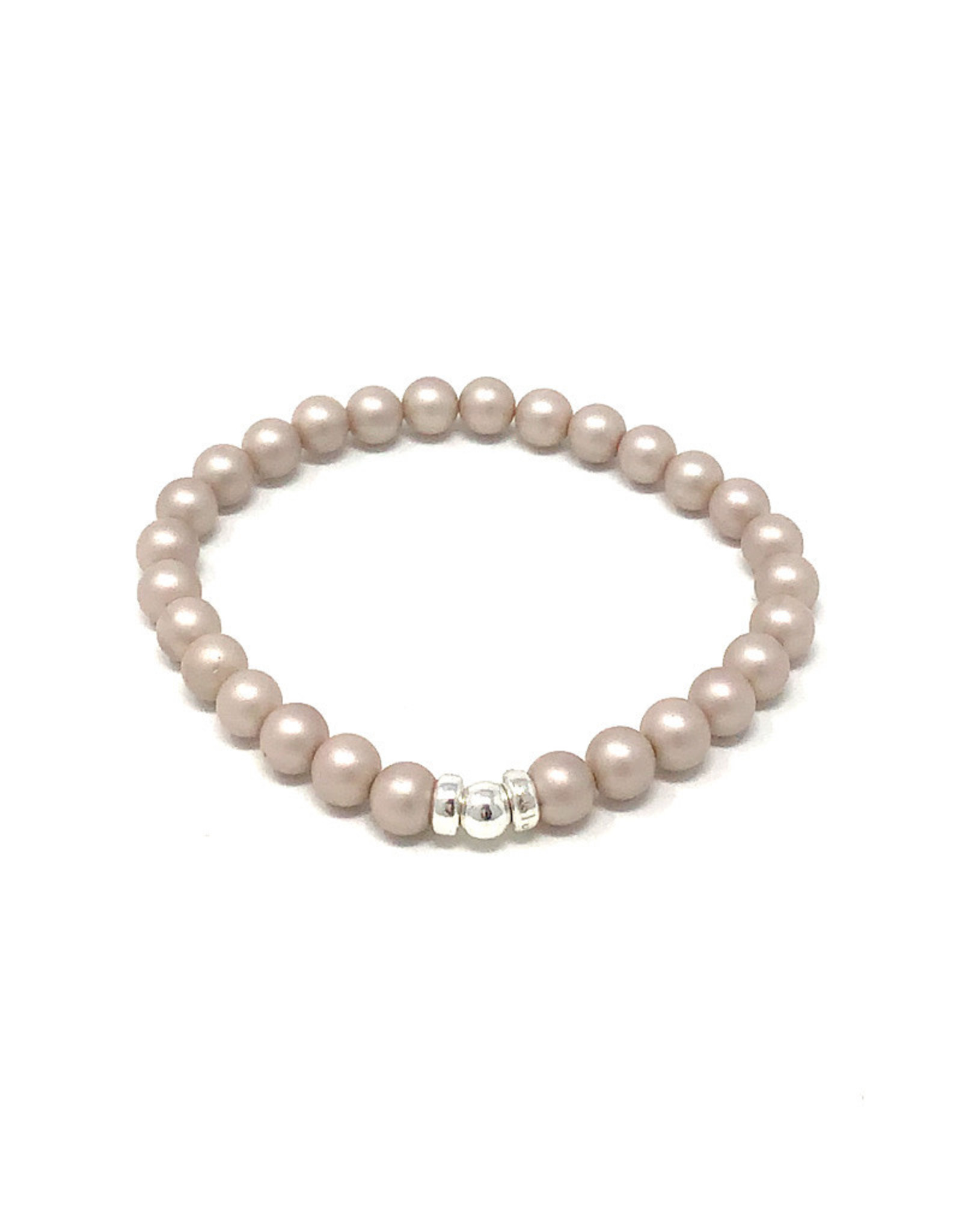 Beblue beblue Bracelet Light Grey Pearls