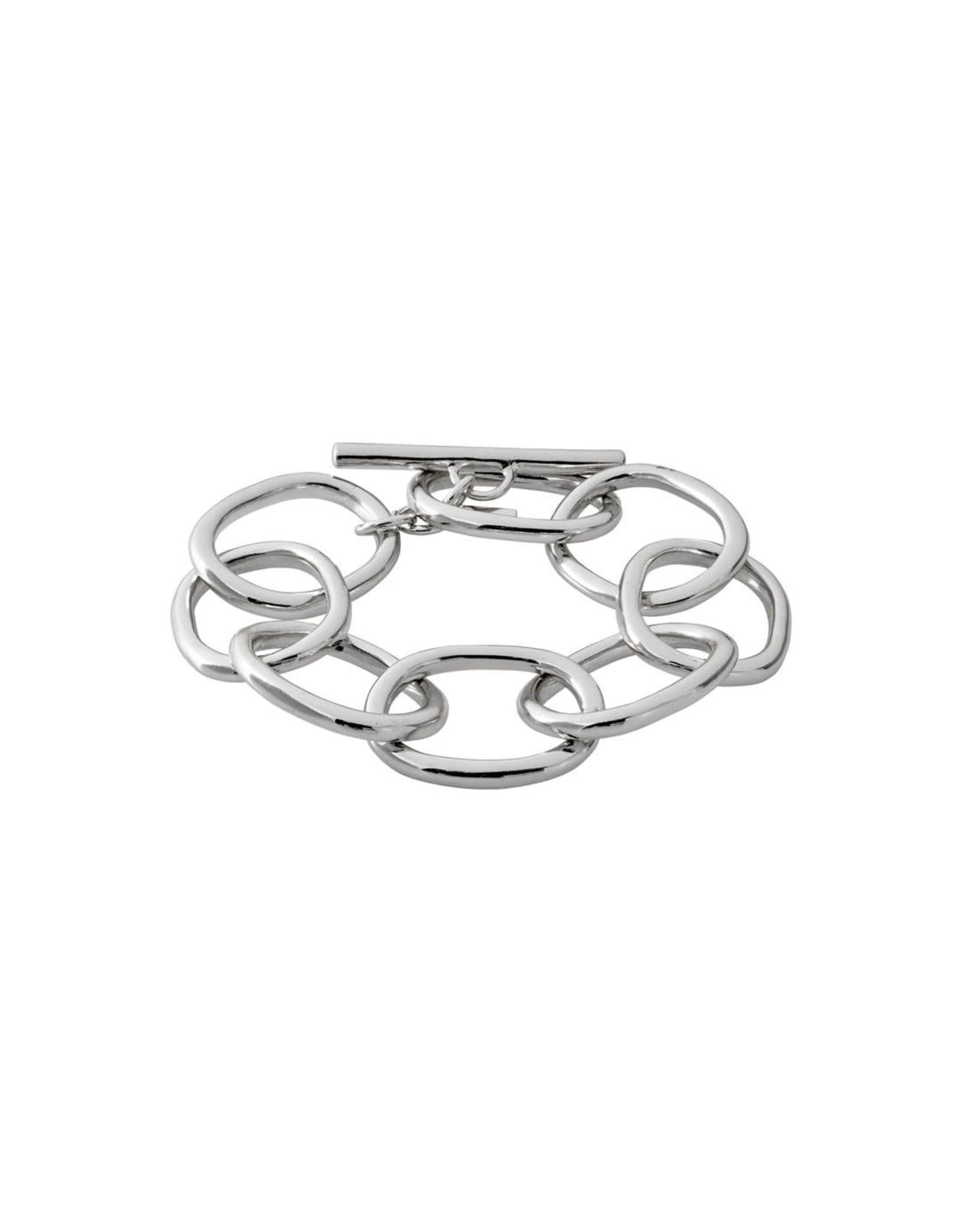 Pilgrim Pilgrim Bracelet Air chain silver