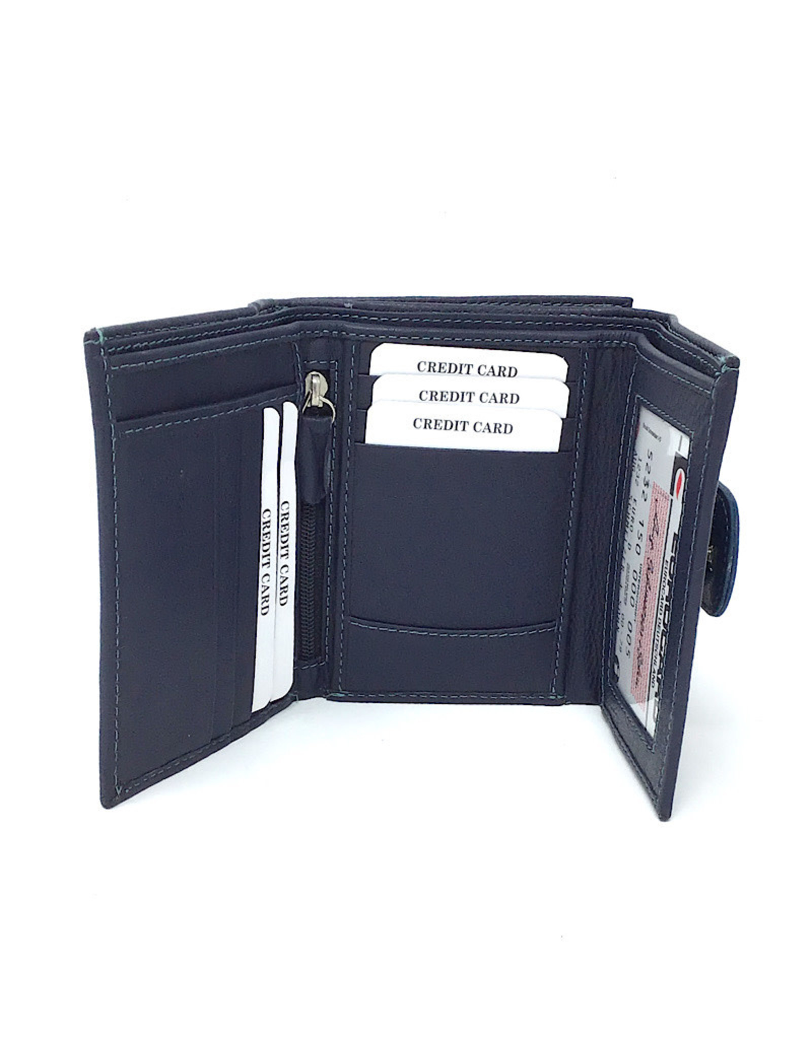 Expressions Wallet Nora Blue