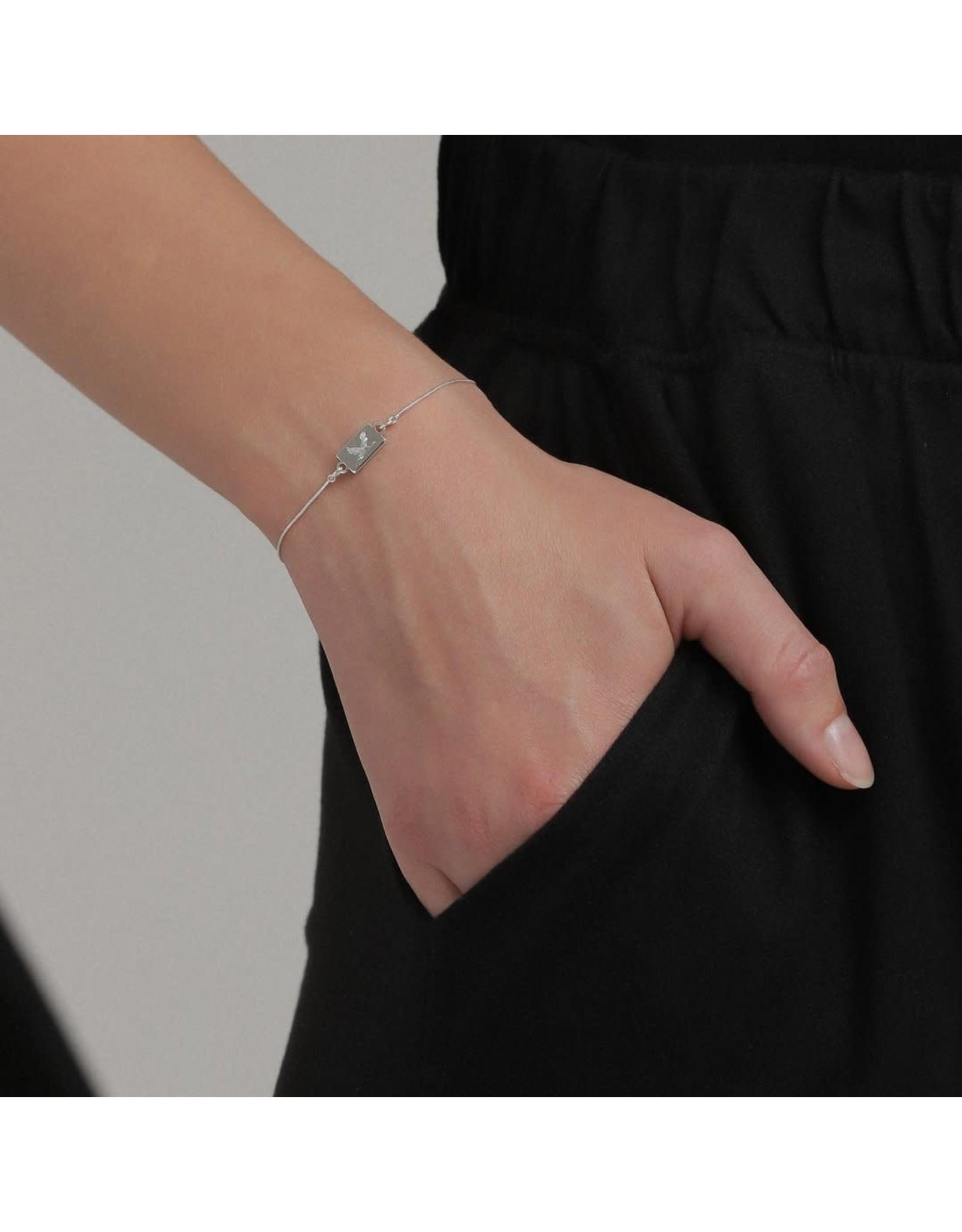 Pilgrim Pilgrim Bracelet Tana silver